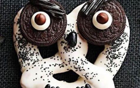 White Chocolate Pretzel Owls