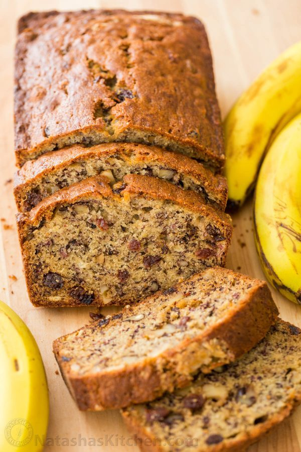 Banana​ ​Nut​ ​Bread