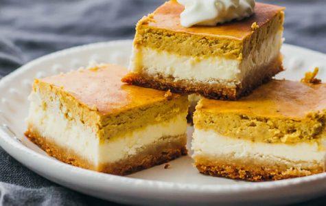 Pumpkin Cinnamon Cheese Bars