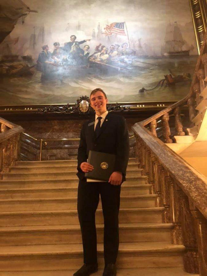 Luke Turner's Participation in the Senate Page Program