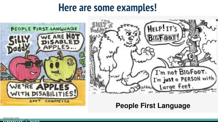 Let's Talk About People-First Language