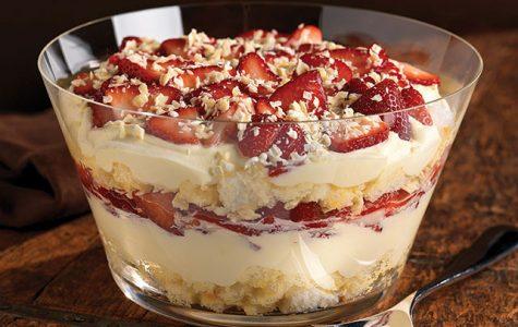 Twisted Strawberry Shortcake