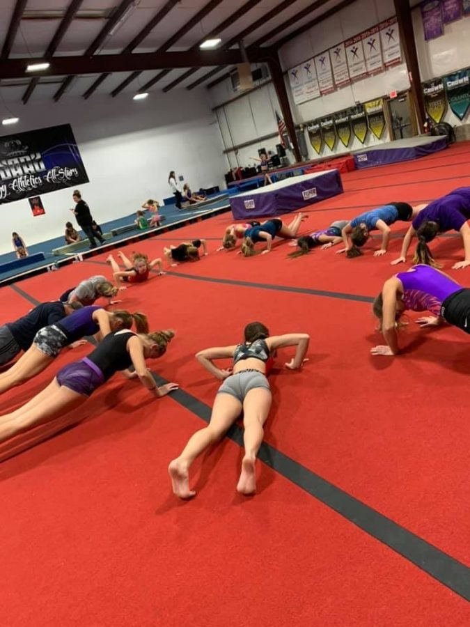 SHS+Gymnastics+Team