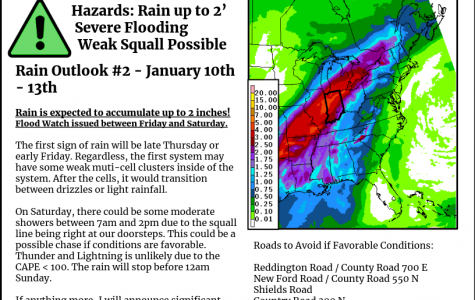 Rain Outlook for January 10th-13th