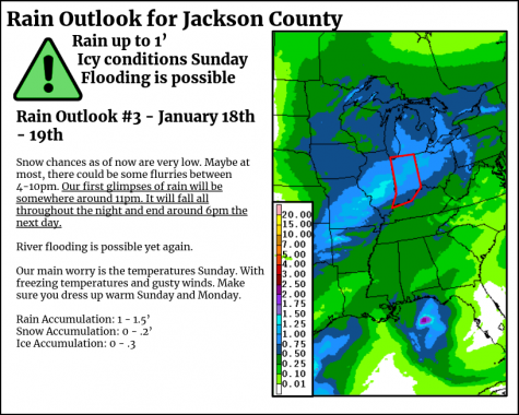 Flood Map for Upcoming Stormy Weather