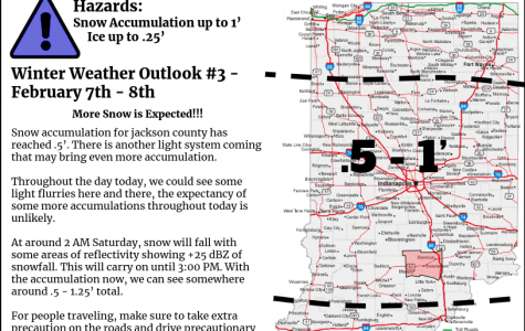 Snow Forecast for February 7th and 8th